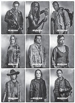 THE WALKING DEAD Season 6 PROFILES Series 1 - 10 Card PROMO Set - Rick Michonne