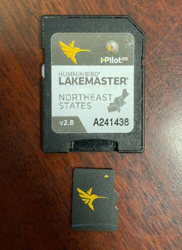 Humminbird LakeMaster Chart NorthEast States - MicroSD - Version 2 V2