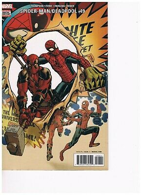 Spiderman Deadpool #49, Spiderman #1, City At War #2, Velocity 1,2 JJ Abrams, NM
