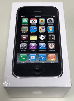 NEW Sealed Apple iPhone 3GS 16GB AT&T Oyster-white MC136LL/A A1303 GSM Vintage Rare