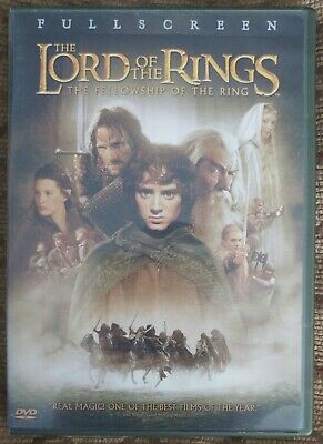 The Lord of the Rings: The Fellowship of the Ring (DVD, 2002, 2-Disc Set, Full …