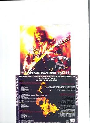 Ace Frehley (Kiss) Ace of Spades Live 2cd set 1993