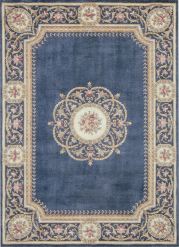 """1:12 or 1"""" Scale Dollhouse Miniature Area Rug Approx. 7-1/2"""" x 10-1/4"""" - 0001566"""