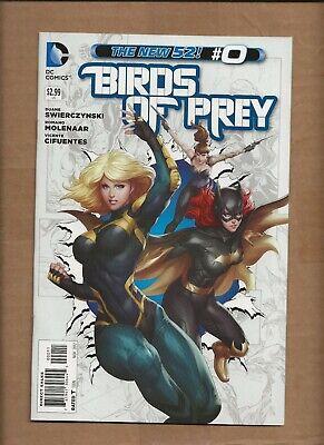 BIRDS OF PREY #0 STANLEY LAU ARTGERM  COVER DC COMICS NEW 52
