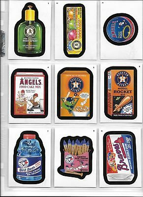 Wacky Packages Baseball 2016 Series 90 Card Complete Set Topps 2016, used for sale  Shipping to South Africa