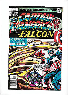 Captain America  209   1977 Vg    Bio Fanatic