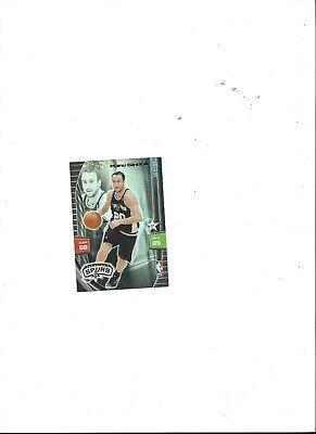 Manu Ginobili - San Antonio Spurs NBA Panini Adrenalyn Trading Card 2010 special Manu Ginobili Nba