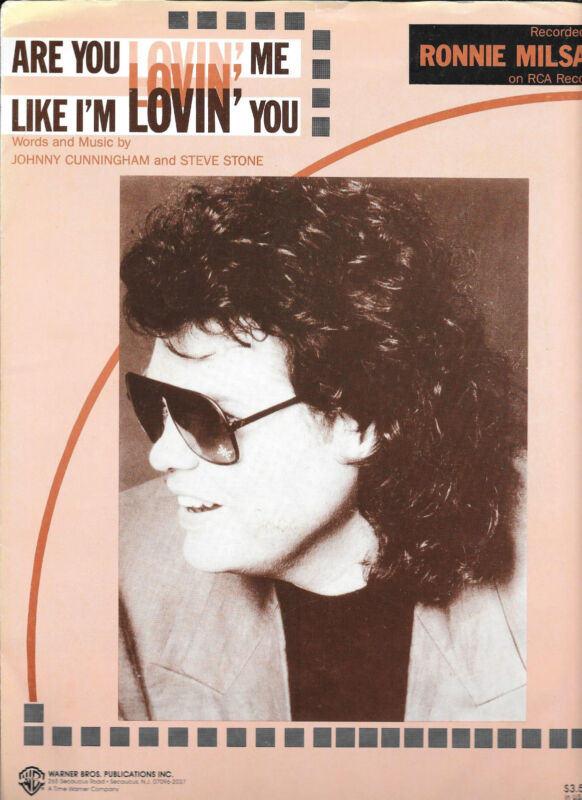 Are You Lovin' Me Like I'm Lovin' You ~ RONNIE MILSAP ~ 1991 ~ Johnny Cunningham