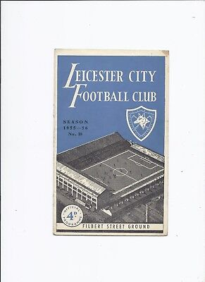 Leicester City v Rotherham United 17 March 1956