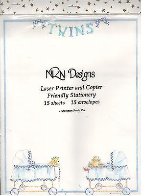 Twins Laser Printer Copier Friendly Stationery 15 Sheetsenvelopes Sale