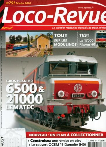 Loco Review 751 Of 2010. Big Plan On 6500 & 21000 Lematec