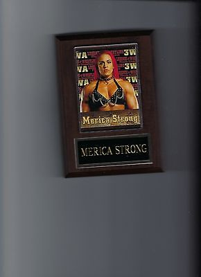 MERICA STRONG PLAQUE WRESTLING 3WA WPN