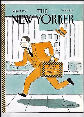 New Yorker Magazine Complete  August 12 1991 Very Good  Condition