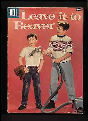 """1958 1st ISSUE """" LEAVE IT TO BEAVER """" #912  Dell COMIC BOOK ORIGINAL ! COMPLETE"""