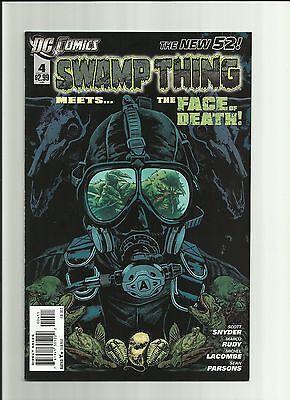 New 52 Swamp Thing #4 NM