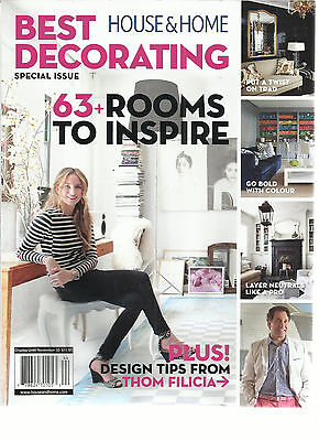 HOUSE & HOME  BEST DECORATING   SPECIAL ISSUE FALL, 2014  ( 63+ROOMS TO