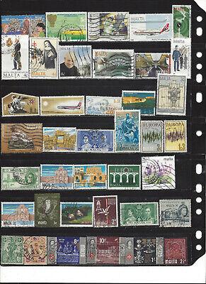 98 different Malta stamps