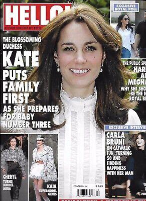 Hello Magazine Kate Middleton Prince Harry Carla Bruni Victoria Beckham Fashion