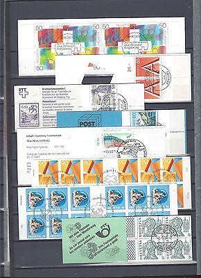 Schweiz Markenheftchen booklet 16 MH gestempelt M€ 326,- siehe Bilder gebraucht kaufen  Moers