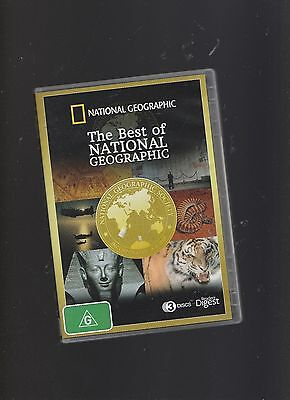 NEW/SEALED:The Best Of National Geographic 3 DVD Set - History/World War