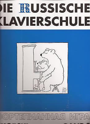 Klavier Noten  - DIE RUSSISCHE KLAVIERSCHULE - BAND 2  - inkl. 2 CDs -
