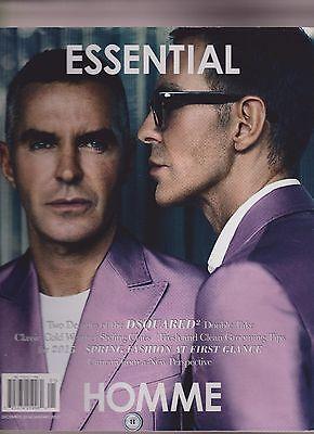 Essential Homme Men's Fashion Magazine DEC 2014/JAN 2015.