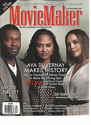 Movie Maker  The Art   Business Of Making Movies  Winter  2015  Issue 112 Vol 22