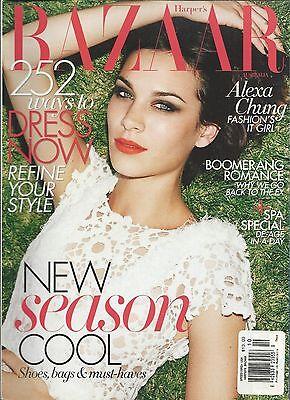 Harper's Bazaar magazine Alexa Chung Boomerang romance Spa special Lady Gaga