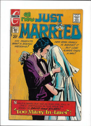 """JUST MARRIED #94 [1973 VG+] """"TOO MANY IN-LAWS""""   GREAT STORY TITLE!"""
