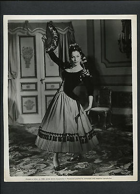 AVA GARDNER IN SPANISH COSTUME - 1958 THE NAKED MAJA](Costume In Spanish)