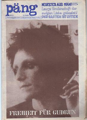Päng Underground Alternativ Zeitschrift UPN-Volksverlag Raymond Martin Nr. 6