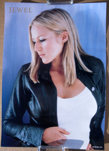JEWEL (Kilcher) Pieces Of You 1995 JAPAN Promo POSTER Singer-Songwriter