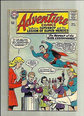 ADVENTURE COMICS #326 1964 SILVER AGE DC COMIC SUPERBOY LEGION OF SUPERHEROES