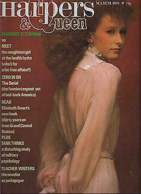 Harpers Bazaar & Queen March 1978 David Bailey-Andrew de Chappuis Konig