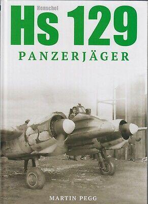 HENSCHEL HS129 PANZERJAGER - PEGG - CHANDOS - LUFTWAFFE