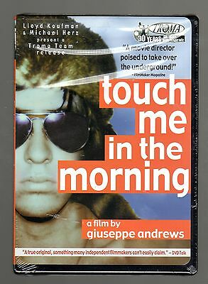 Touch Me In The Morning (dvd) Giuseppe Andrews, Adam Rifkin, Troma Team Video,