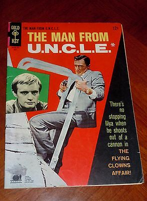 The Man From Uncle  13  1967  Fine Cond   6 0  Photo Cover Television