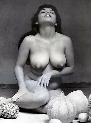 Burlesque, Strip Tease Pin Ups & Calendar girls, Nude reprint 8 x 11 photo 421