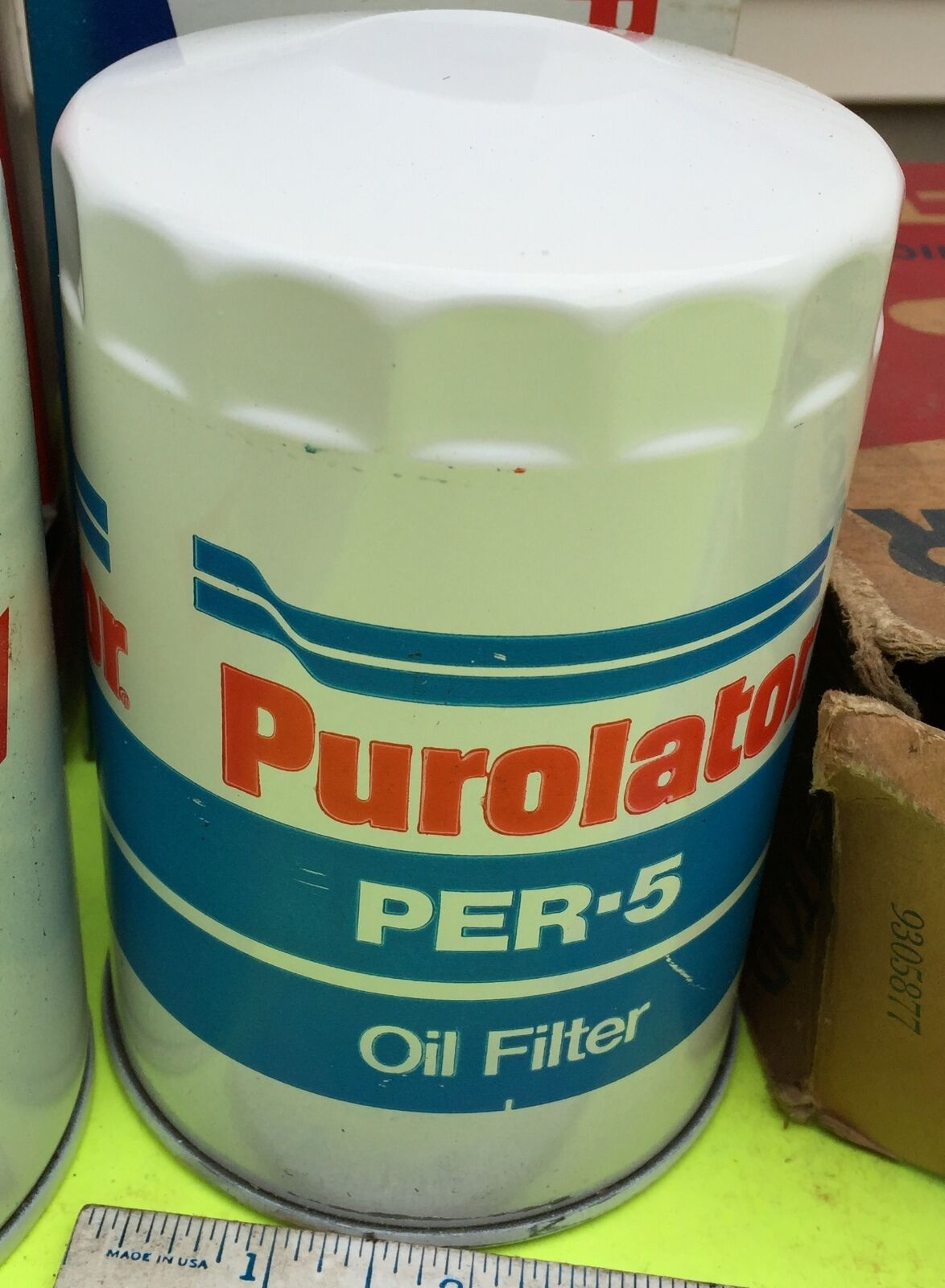 Chrysler, Ford, GM,tractor,  Oil filter.    Purolator PER-5.        Item:  4646