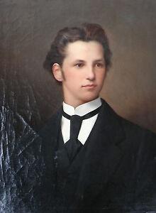 Carl-Teibler-Portrait-eines-jungen-Mannes-Biedermeier-19-Jh
