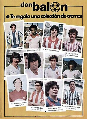 ALBUM CROMOS FUTBOL 82-83 DON BALON FACSIMIL ,COMPLETO Y NUEVO