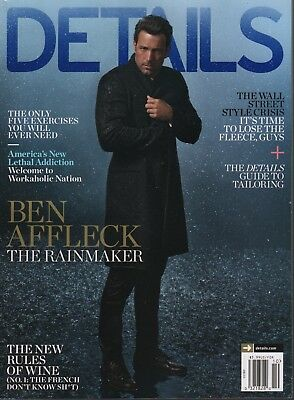 Details October 2014 Ben Affleck James McAvoy Mark Seliger 052418DBF