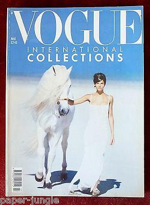 Vogue British ~ March 1990 ~ Helena Christensen Christy Turlington