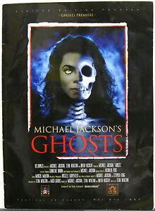MICHAEL JACKSON'S Ghosts 1997 CANNES FILM FESTIVAL Premiere PROGRAM Stephen King