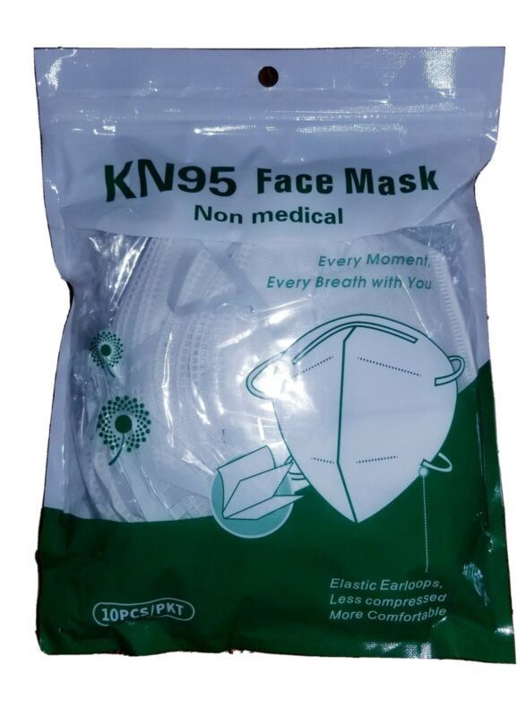10pcs Protective Face Masks Factory Sealed, Inspected US Seller Fast Shipping 🔥
