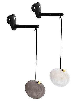 Katzenspielzeug z Befestigen am Sisalstamm Kratzbaum Plüsch Ball Spielzeug Katze