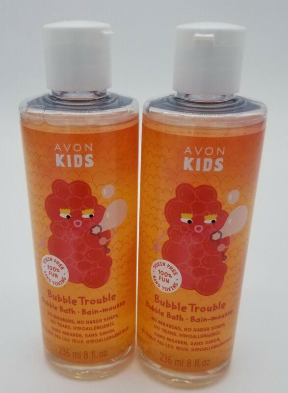 Avon Kids Bubble Trouble Bubble Bath Apple Burst New Sealed 8 oz Lot of 2