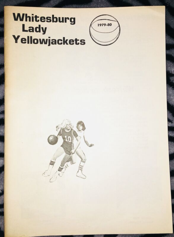 Whitesburg Lady Yellowjackets High School Yearbook 1979-80 Letcher, Ky.