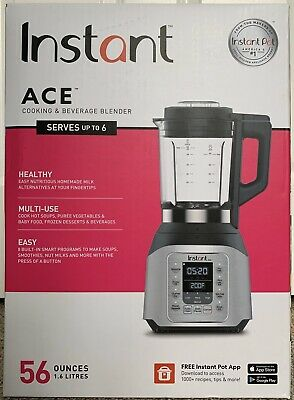 Instant Pot Ace 60 Cooking Blender 8 Smart One-touch Programs - Brand New!