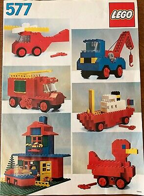 Vintage Lego Universal Basic Building Set #577 from the 1980's